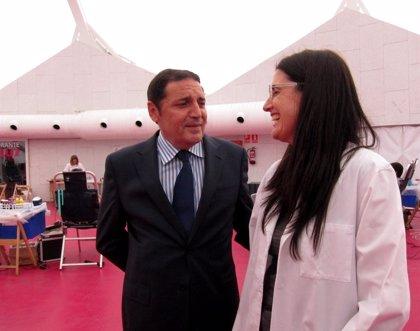"""CLeón.- Sáez Aguado llama a """"compartir sinergias"""" en materia de Investigación Biomédica para """"difundir la actividad"""""""