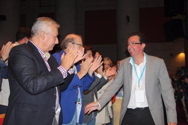 El presidente provincial del PP de Huelva, Manuel Andrés González