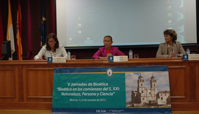 Jornadas de Bioética UCAM 2012