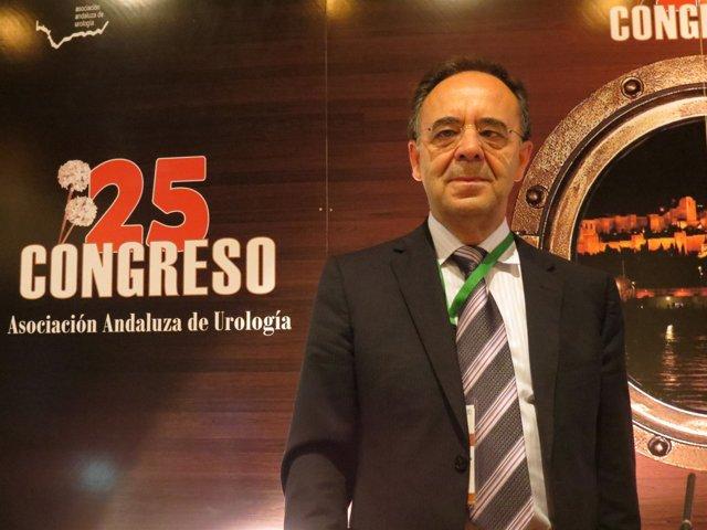 Miguel Arrabal, presidente de la Asociación Andaluza de Urología