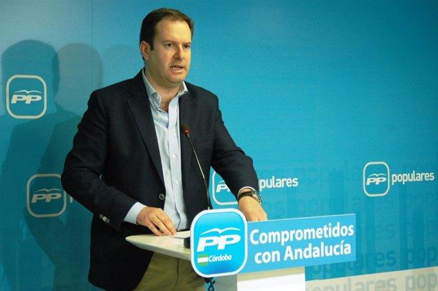 El secretario general y parlamentario andaluz del PP de Córdoba, Adolfo Molina
