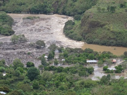 Colombia.- Ya son cuatro muertos y trece desaparecidos por una riada en el sur de Colombia