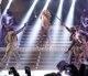 Jennifer Lopez durante el concierto