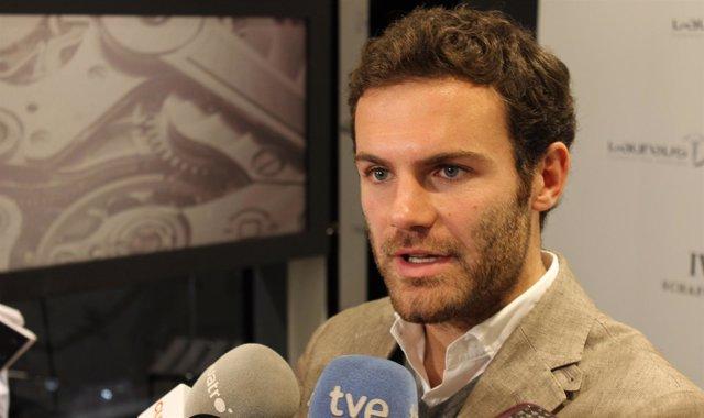 Juan Mata prensa presentación reloj IWC