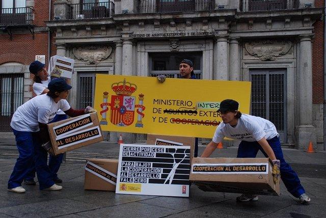 PROTESTA INTERMÓN OXFAM
