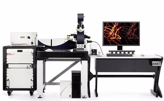 Microscopio de super-resolución