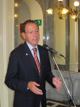 El alcalde de Murcia, Miguel Ángel Cámara