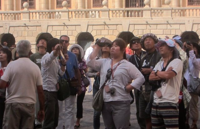 Turistas, turismo, japoneses