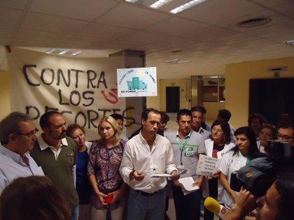 Este miércoles ha finalizadol encierro de trabajadores en el Hospital Torrecárdenas (Almería)