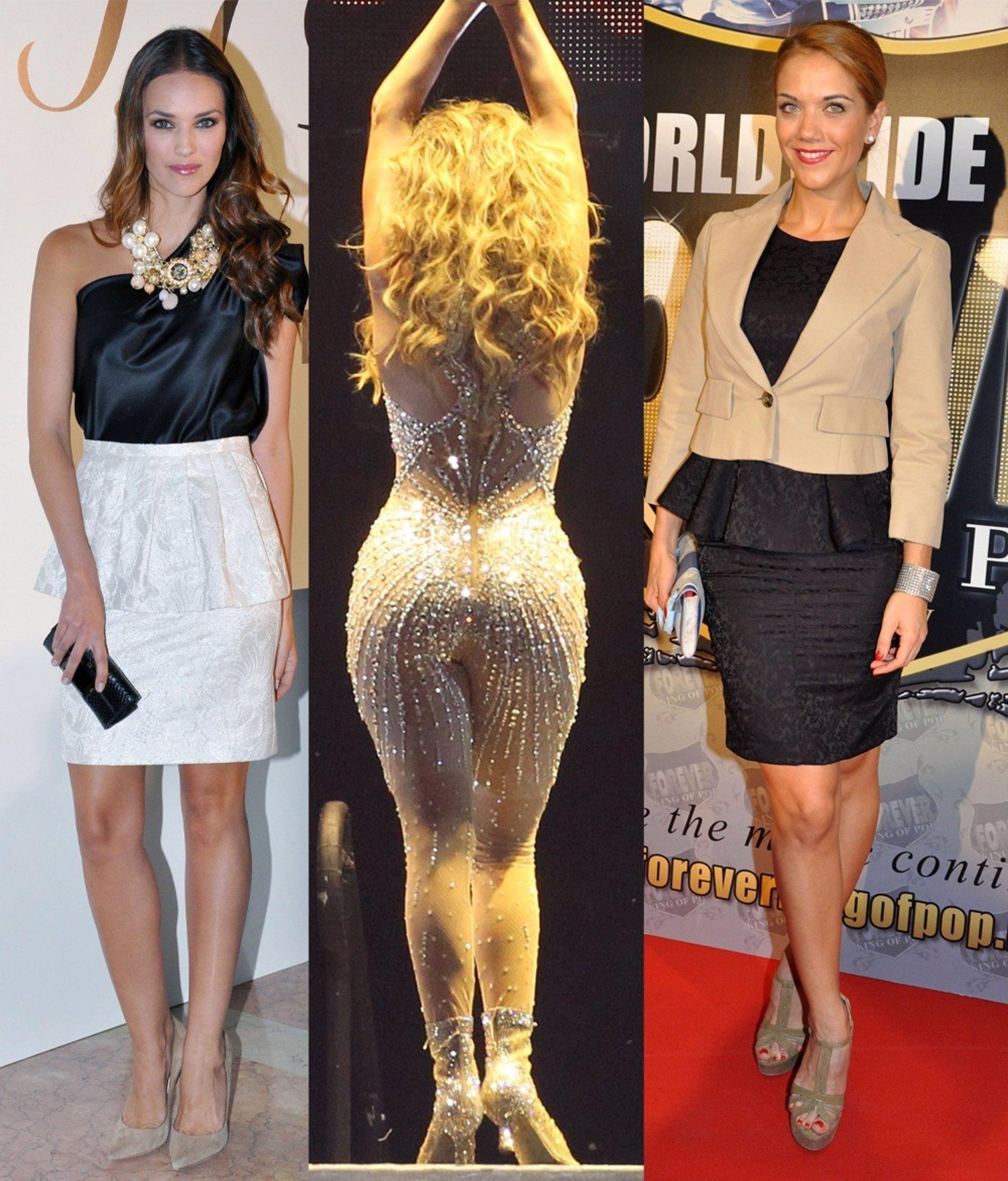 0dc7e0c707 El trasero de Jennifer Lopez VS. el peplum de Helen Lindes y Beatriz Trapote