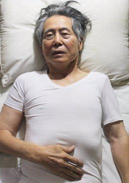 El ex presidente peruano Alberto Fujimori, en una de sus últimas fotografías.