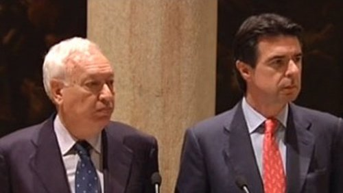 García-Margallo Y Soria Comparecen Tras La Expropiación De YPF