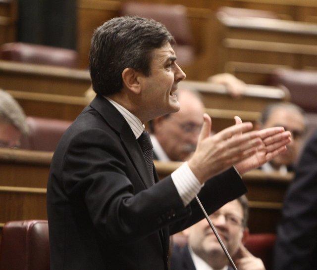 Pedro Saura, Portavoz De Hacienda Del PSOE