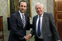 José Ramón Bauzá con García-Margallo
