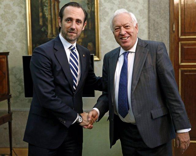 José Ramón Bauzá Y José Manuel García Margallo