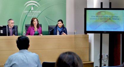 Andalucía.- Salud detecta a tiempo 7.600 tumores de mama en los 17 años de su programa precoz