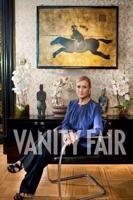 Cristina Cifuentes, posando para Vanity Fair