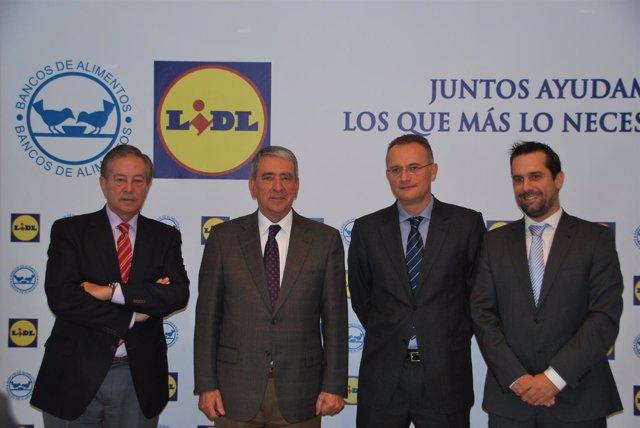 Firma Acuerdo FESBAL Y  LIDL