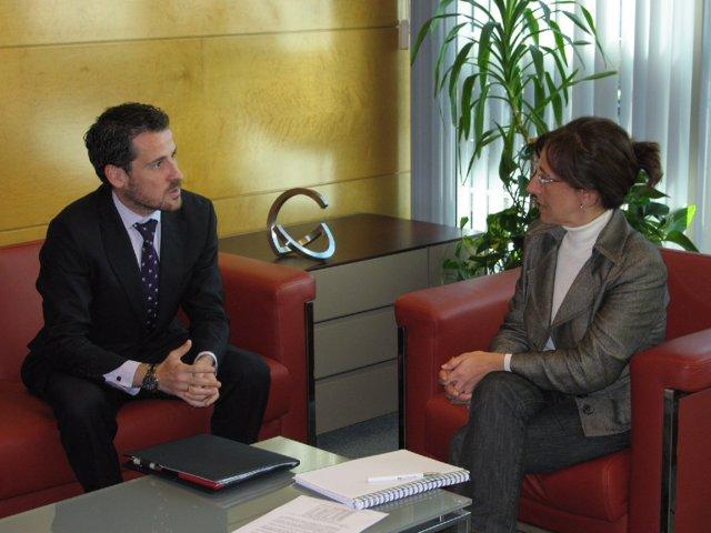 Carlos San Martín y Belén Fernández