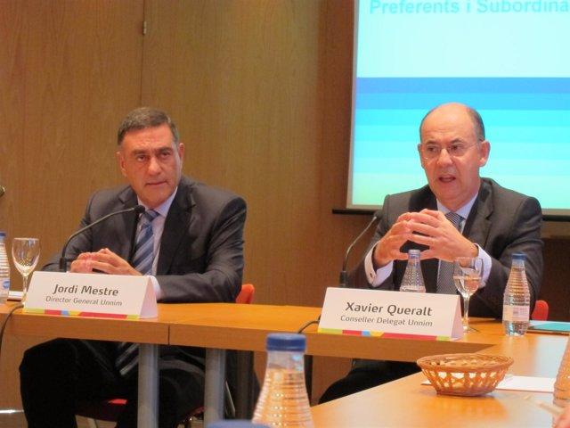 Jordi Mestre  y Xavier Queralt
