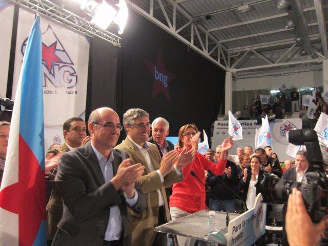 Mitin de cierre de campaña del BNG en Vigo
