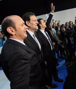 Rajoy y Feijóo en Vigo