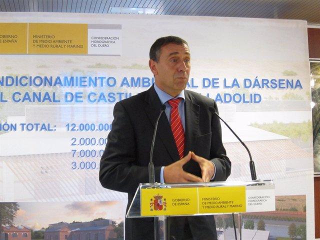 El Secretario De Estado De Medio Rural Y Agua, Josep Puxeu