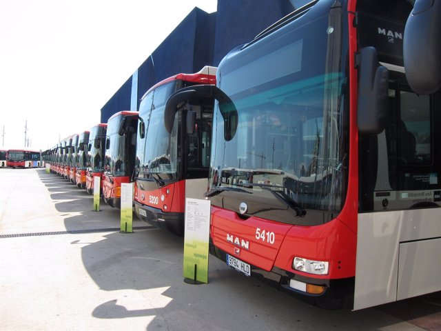 Autobuses urbanos de Transports Metropolitans de Barcelona (TMB)