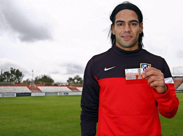 Falcao Abonados Atletico De Madrid