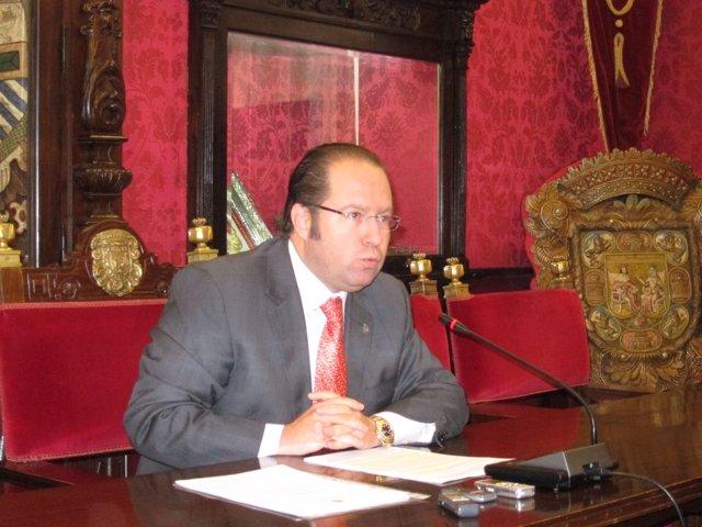 El concejal de Economía, Francisco Ledesma (PP).