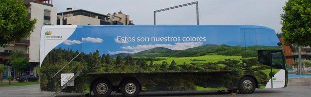 Autobús de Iberdrola