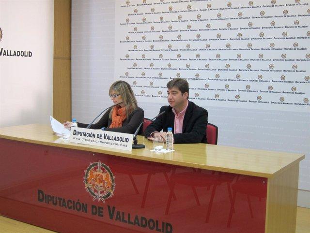 Marta Olmedo y Juan José Zancada