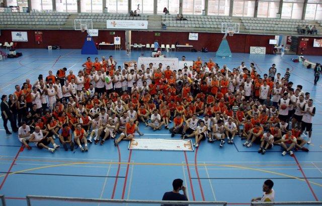 Participantes en el torneo Cistella Solidària
