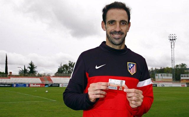 Juan Fran Abonados Atletico De Madrid