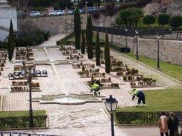 Sacyr, mantenimiento de zonas verdes