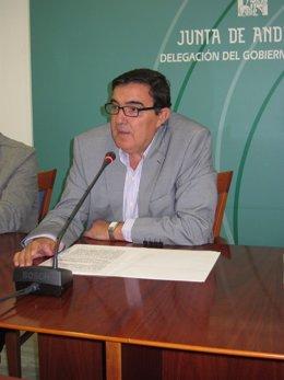 El delegado territorial de Educación, Cultura y Deporte, Vicente Zarza.