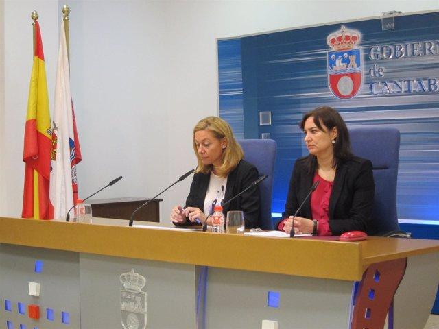 Cristina Mazas y María Ángeles Sopeña