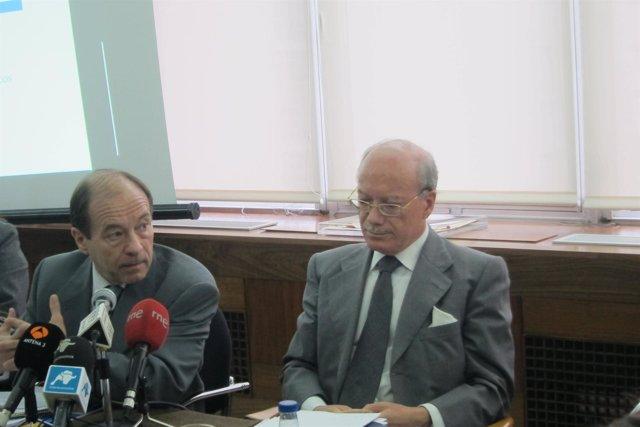 José Luis Feito y Joaquín Trigo