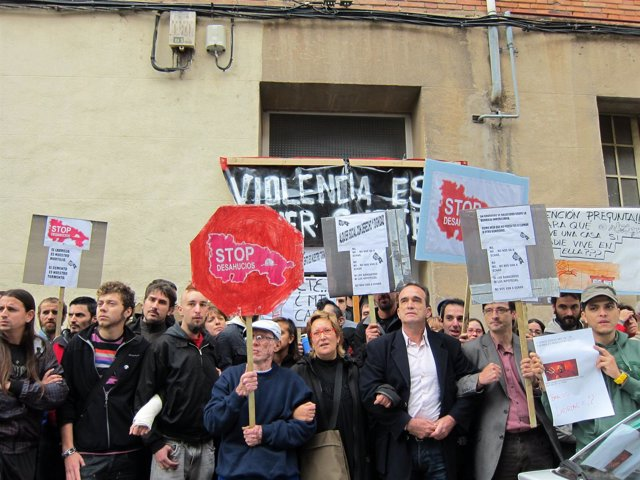 Pah La Rioja Suspende Un Desahucio