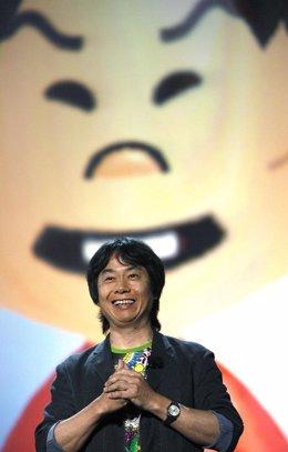 Shigeru Miyamoto Nintendo wii