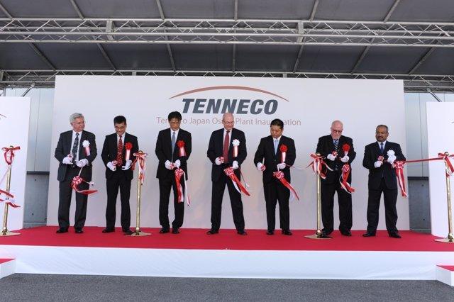 Inauguración De La Planta De Tenneco En Japón