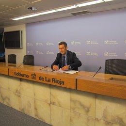 El director general de Formación y Empleo, Luis García del Valle