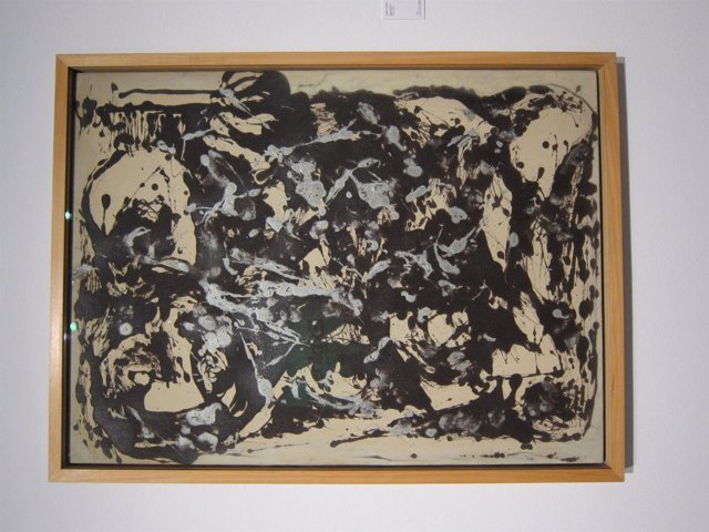 Brown and Silver I, de Jackson Pollock