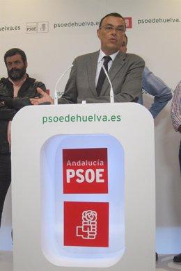 El secretario general del PSOE de Huelva, Ignacio Caraballo.