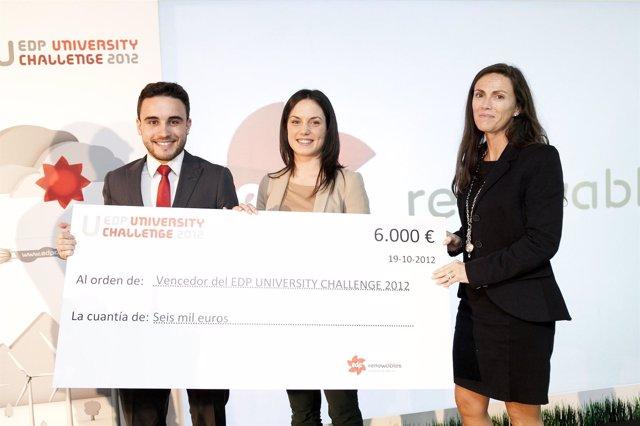 Ganadores Del Premio EDP University Challenge 2012