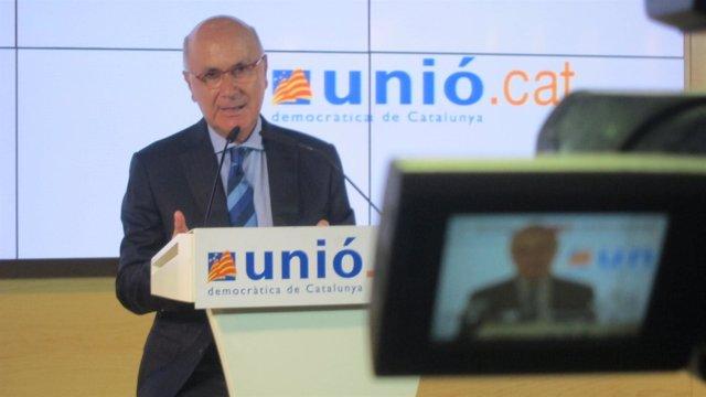 Josep Antoni Duran, UDC