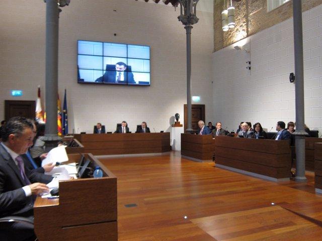 Pleno de la Diputación Provincial de Zaragoza (DPZ)