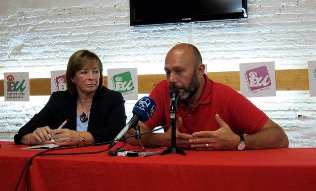 Marga Sanz Y Ricardo Sixto, EUPV