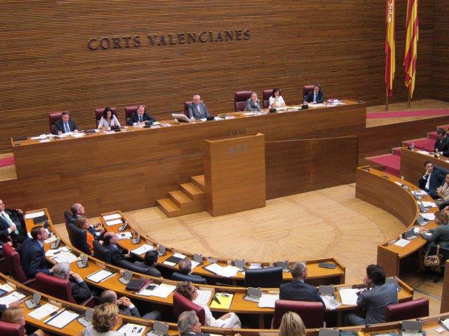 Hemiciclo De Las Corts Valencianes.