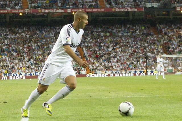 Benzema Real Madrid Super Copa